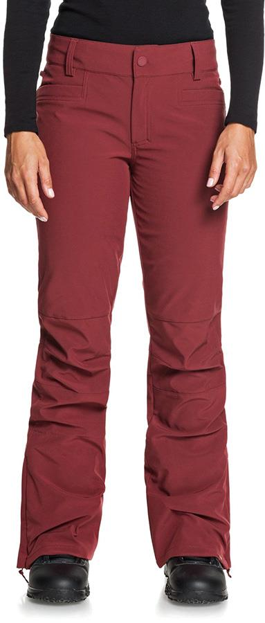 Roxy Creek Women's Snowboard/Ski Pants, XS Oxblood Red