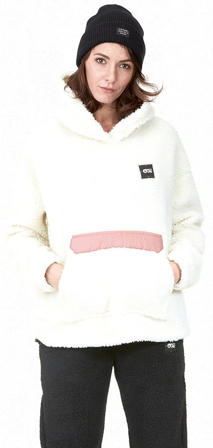 Picture Esme Women's Pullover Hoodie, L Off White