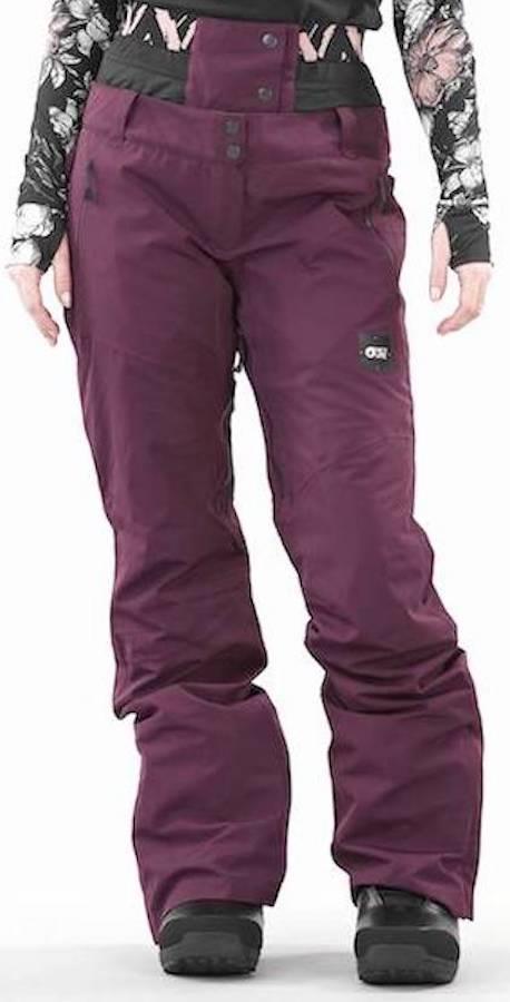 Picture Exa Women's Ski/Snowboard Pants, S Burgundy