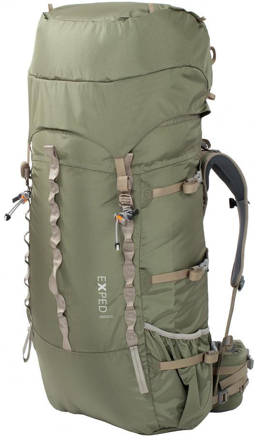 Exped Expedition 100 Trekking Backpack/Rucksack, 100L Olive Grey