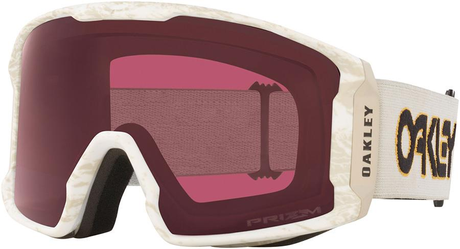 Oakley Line Miner XL Prizm Dark Grey Snowboard/Ski Goggles, L Lunar