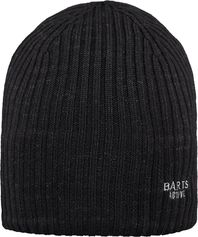 Barts Fence Ski/Snowboard Beanie Hat, One Size Black