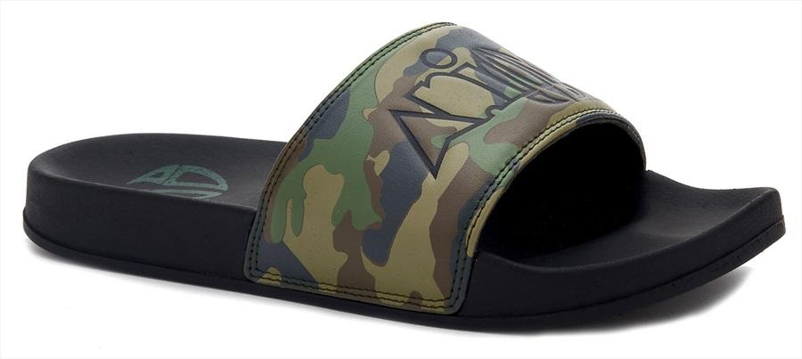 Animal Slyde Slider Flip Flops, UK 8 Camo Print