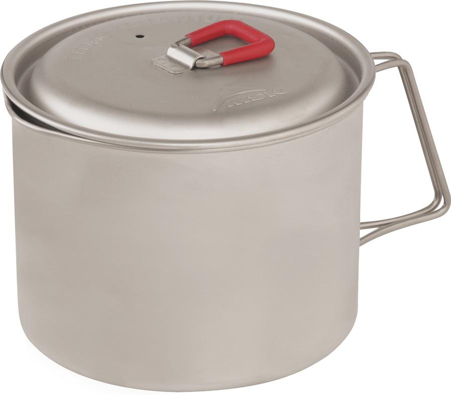 MSR Titan Kettle Ultralight Backpacking Teapot, 850ml Grey