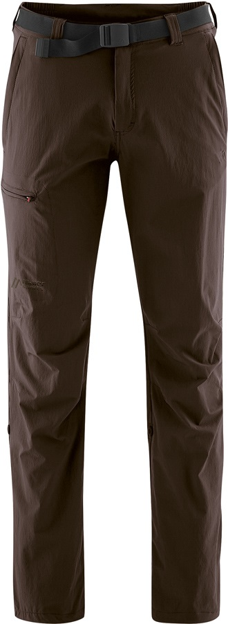 Maier Sports Nil Roll Up Short Hiking Trousers, M Demitasse