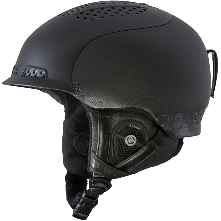 K2 Diversion Ski/Snowboard Helmet, S, Black