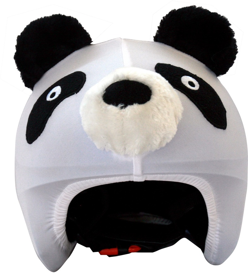 Coolcasc Animals Ski/Snowboard Helmet Cover, One Size, Panda
