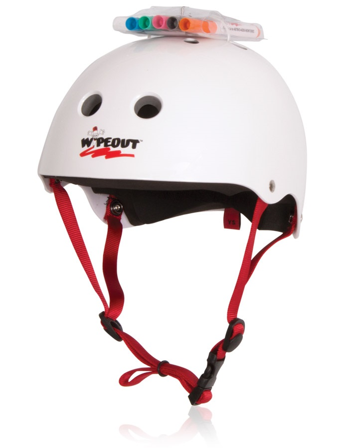 Liquid Force Kids Wipeout Watersport Helmet, Youth Large White