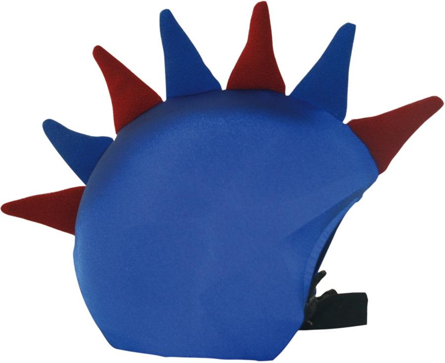 Coolcasc Show Time Ski/Snowboard Helmet Cover, Blue Grana Dragon