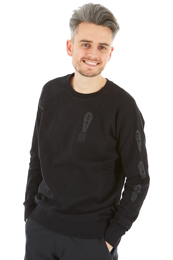 Bataleon Death Chill Crew Sweatshirt, M Black