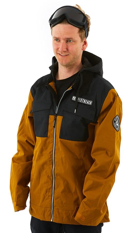 Westbeach Dauntless Ski/Snowboard Jacket, M Brown Sugar