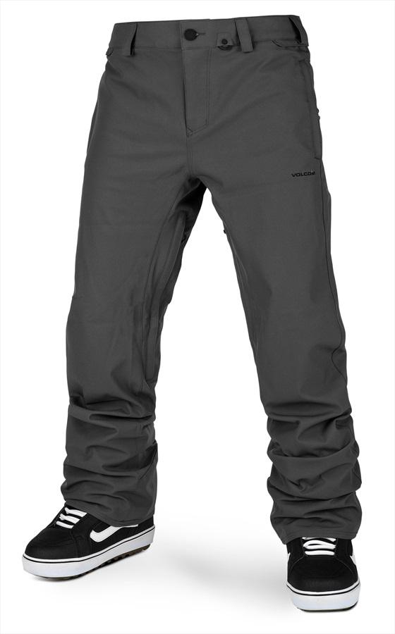 Volcom Adult Unisex Freakin Snow Chino Snowboard/Ski Pants, Xl Dark Grey