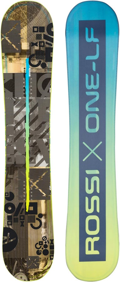 Rossignol One LF Wide Hybrid Camber Snowboard, 165cm 2020