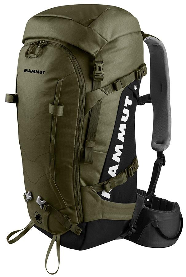 Mammut Trion Spine 50 Hiking/Trekking Backpack, 50L Olive Black