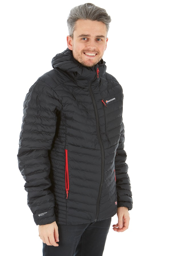 Montane Icarus Men's Insulated PrimaLoft® Jacket, S Black