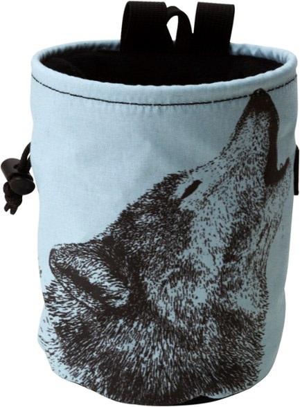 Metolius Adult Unisex Wildlife Rock Climbing Chalk Bag, One Size Wolf