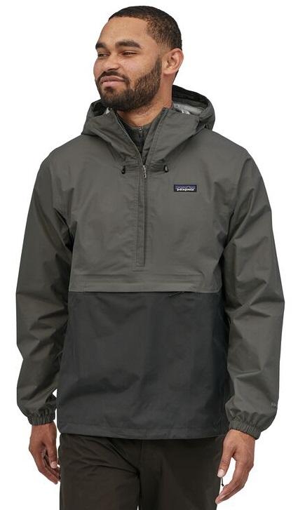 Patagonia Adult Unisex Torrentshell 3l Pullover Waterproof Jacket, S Black