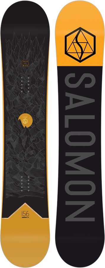 Salomon Sight Hybrid Camber Snowboard, 162cm Wide 2020