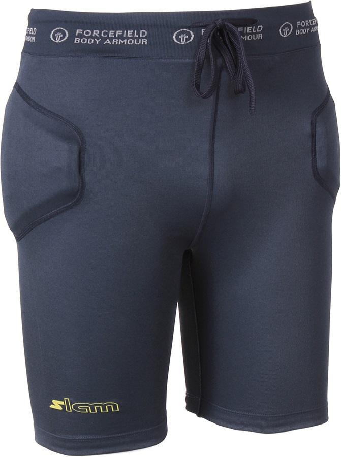 Forcefield Slam Shorts Impact Shorts, XS Navy