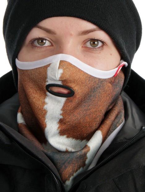 Airhole Standard Ergo Ski/Snowboard Face Mask S/M Giraffe