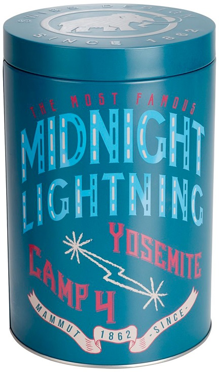 Mammut Pure Collectors Box Midnight Lightning Climbing Chalk, 230g Blue