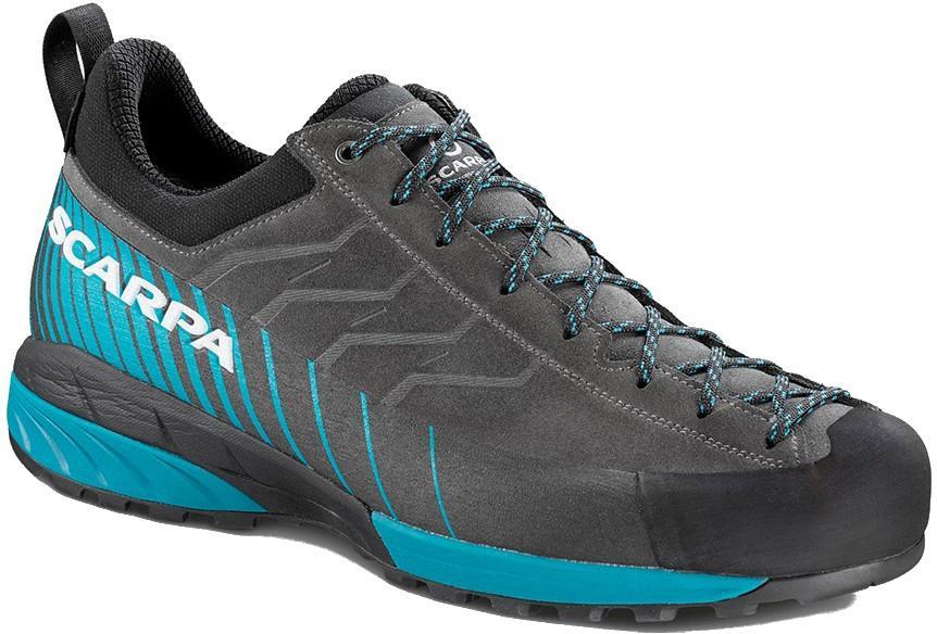 Scarpa Mescalito GTX Tech Approach Shoe, UK 9 1/2, EU 44 Grey/Blue