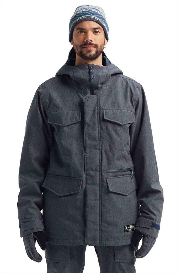 Burton Covert Ski/Snowboard Jacket, S Denim 2022