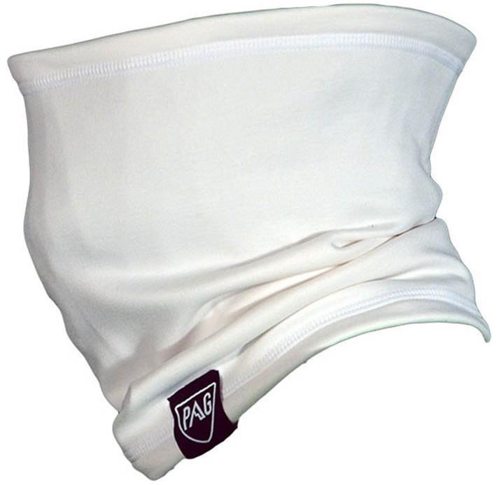 PAG Neckwear Usual Snowboard/Ski Neckwarmer White/Reflective Logo