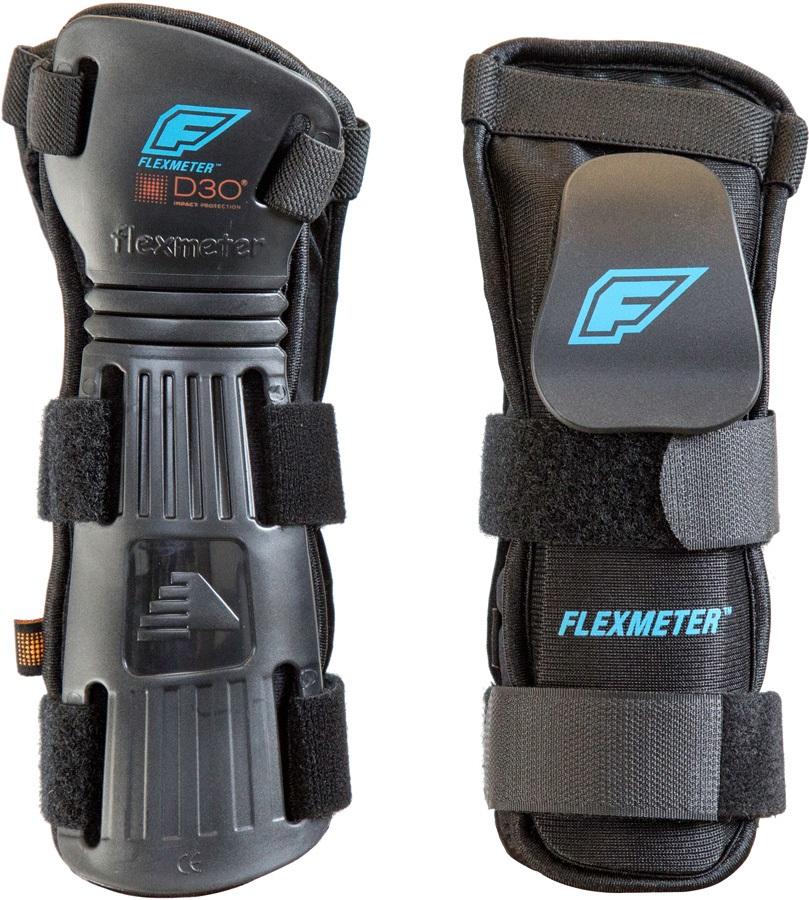 Demon Flexmeter Double Ski/Snowboard Wrist Guards, S Black