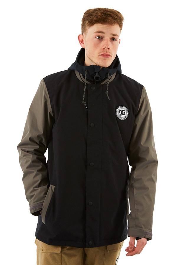 DC DCLA Ski/Snowboard Jacket, XL Black