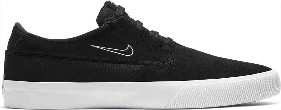 Nike SB Shane Trainers/Skate Shoes, UK 8 Black/White-Black