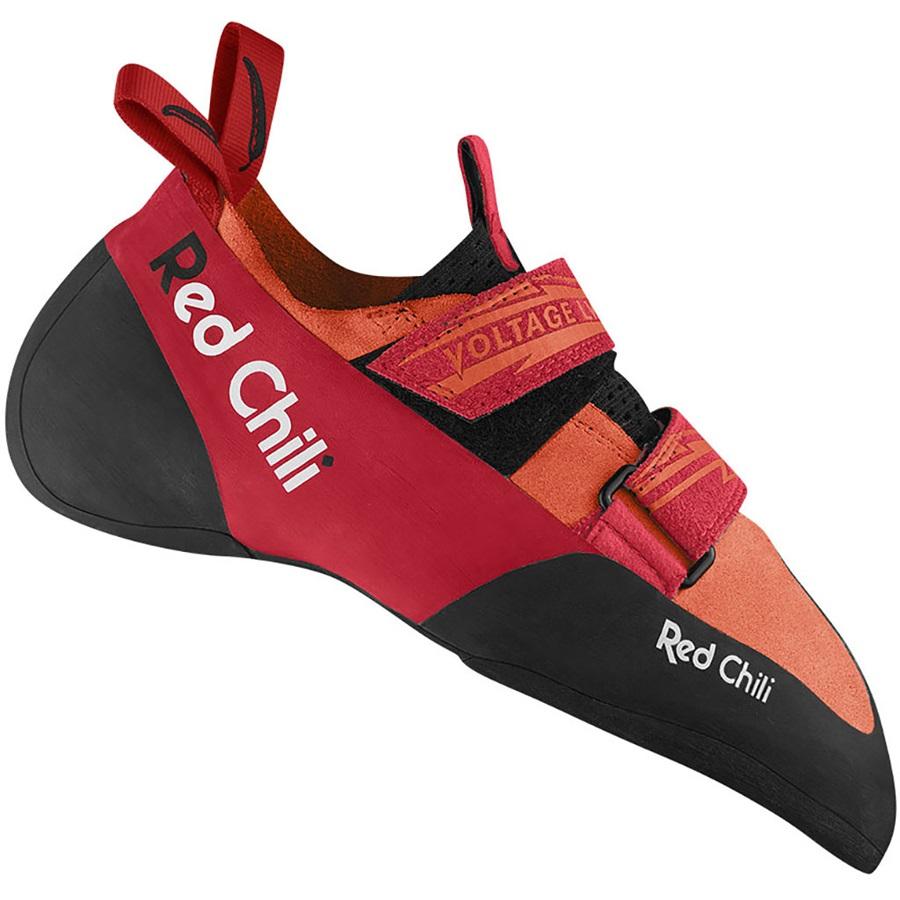 Red Chili Voltage LV Rock Climbing Shoe, UK 8.5 | EU 42.5 Orange