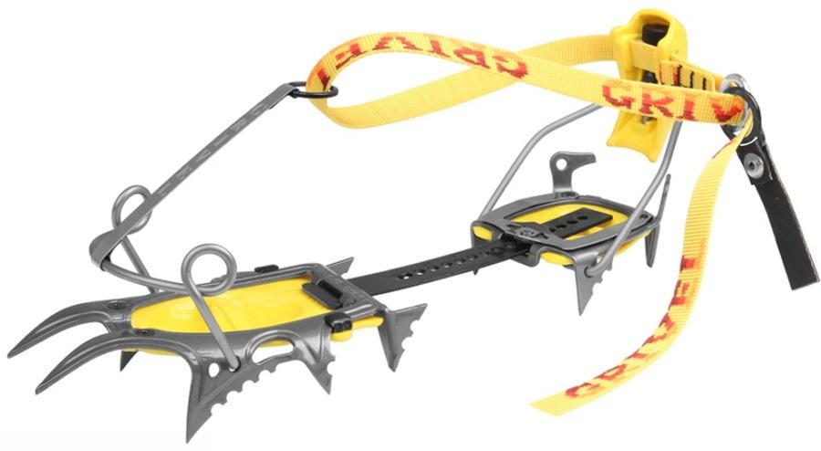 Grivel Air Tech Cramp-O-Matic Mountaineering Crampon UK 2.5-12.5