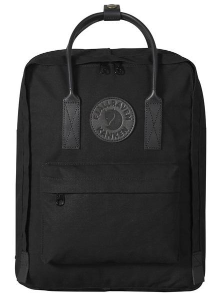 Fjallraven Kanken No.2 Day Pack/Backpack, 16L Black/Black