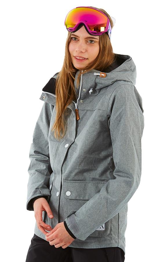 Wearcolour Ida Women's Ski/Snowboard Jacket S Grey Melange