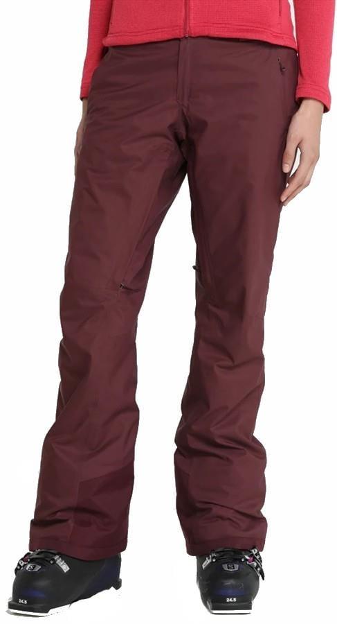 Patagonia Snowbelle Stretch Pants Reg, S Dark Currant
