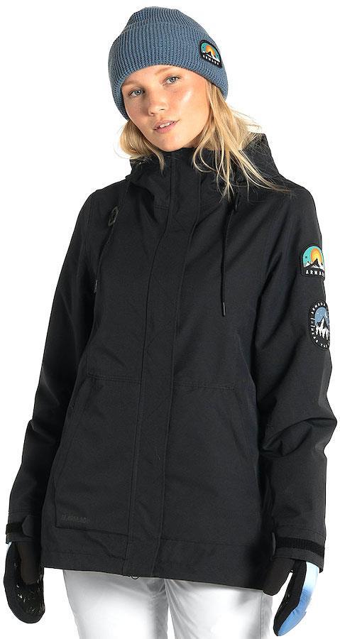 Armada Helena Insulated Women's Ski/Snowboard Jacket, S Black