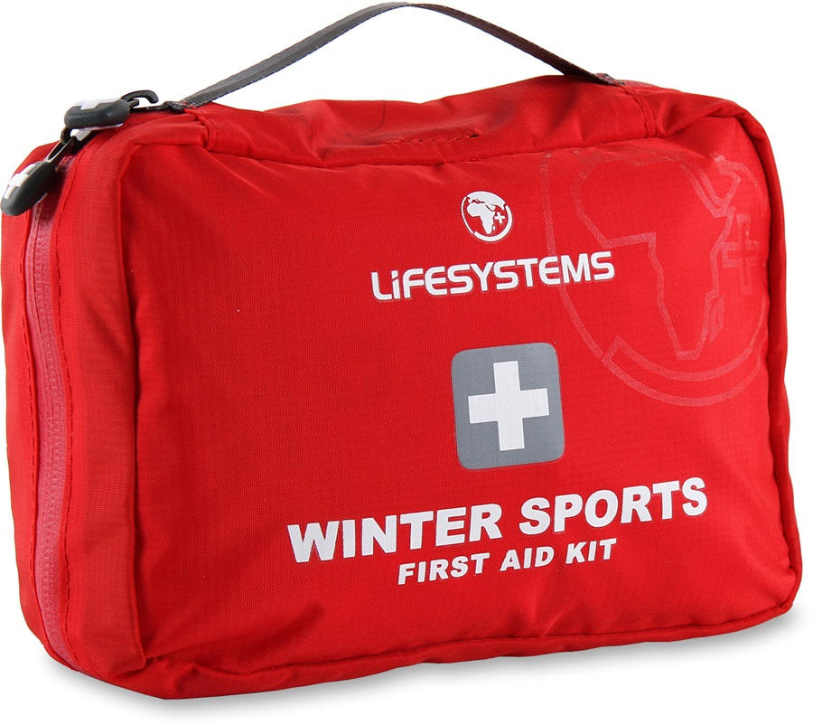 Lifesystems Winter Sports Portable First Aid Kit 40 items Red