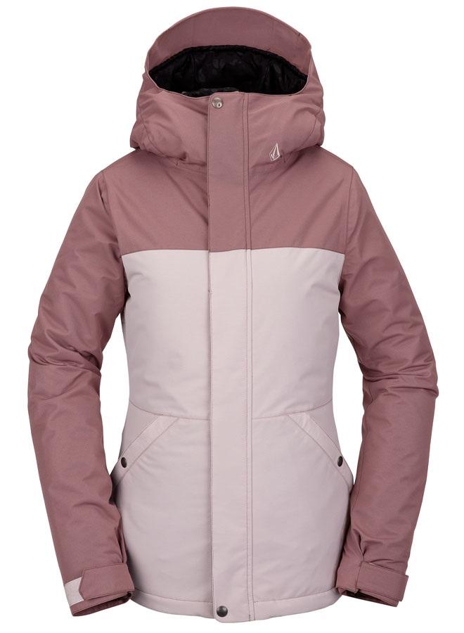 Volcom Womens Bolt Insulated Women's Ski/Snowboard Jacket, Uk 8 Faded Pink