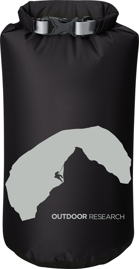Outdoor Research Graphic Dry Sack Equipment Dry Bag, 5L Negative Space