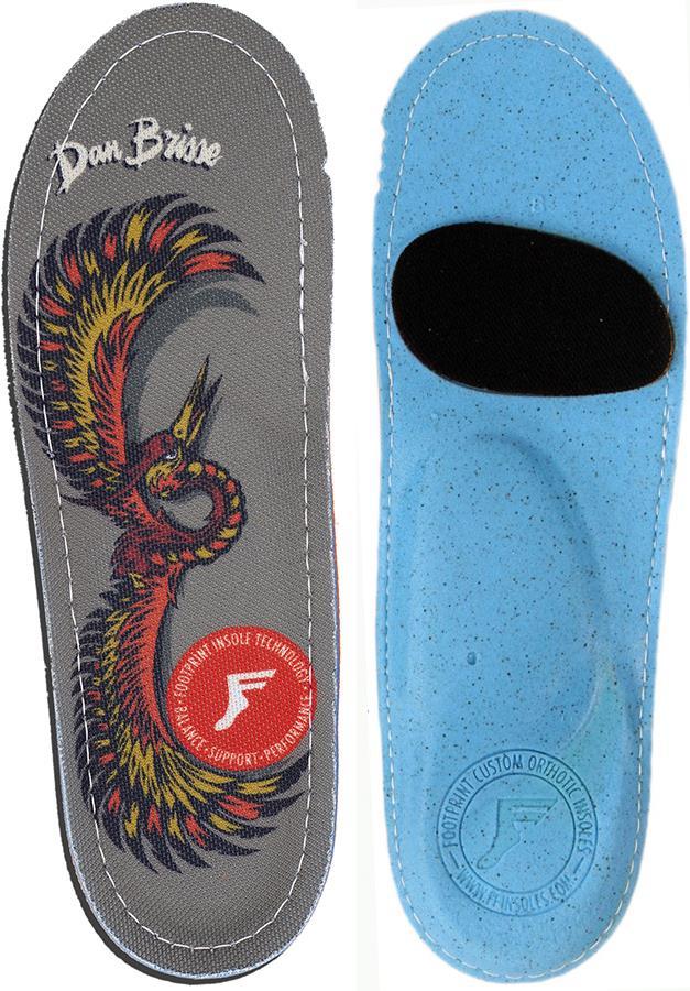 Footprint Dan Brisse Kingfoam Orthotic Insoles, UK 5 Falcon