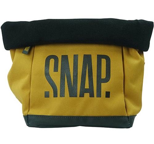 Snap Big Chalk Fleece Chalk Bag, 35 X 18 X 18 Cm, Curry