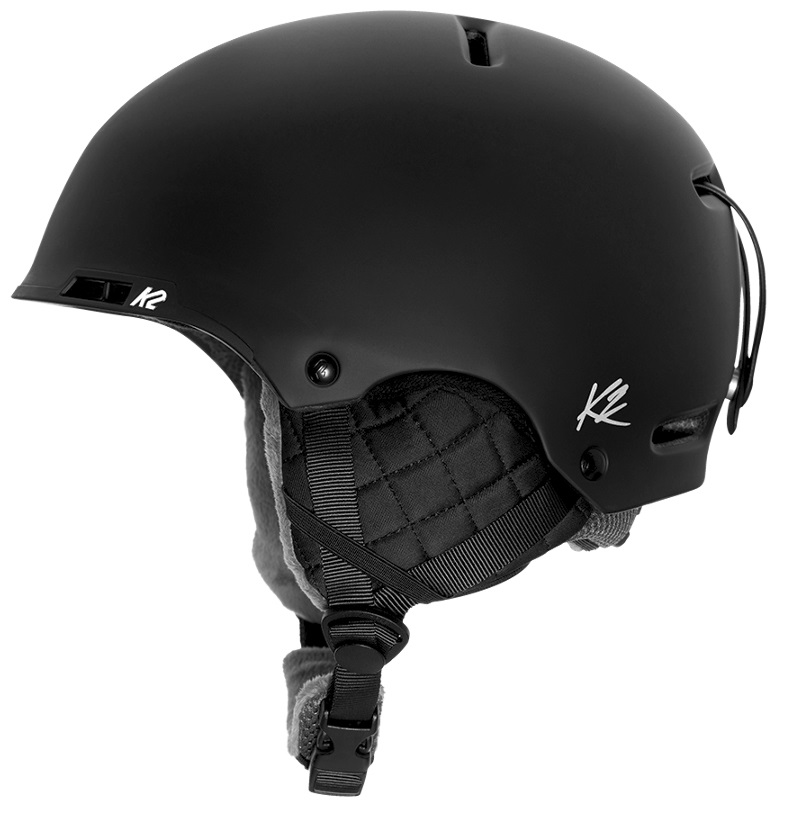 K2 Meridian Women's Ski/Snowboard Helmet, M Black