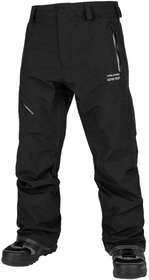 Volcom Adult Unisex L Gore-Tex Ski/Snowboard Pants, M Black