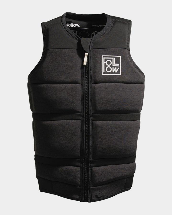 Follow Surf Edition Plus Wakeboard Impact Vest Jacket, 2XL Black 2021