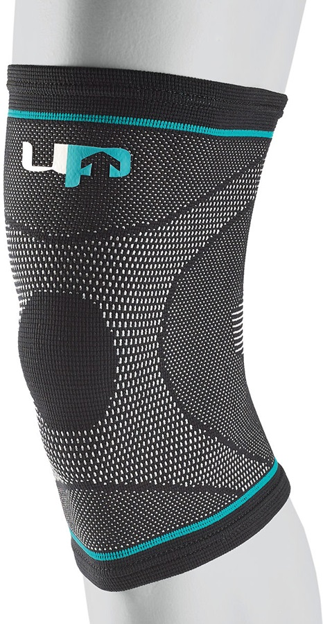 Ultimate Performance Compression Elastic Knee Support, XL Black/Blue