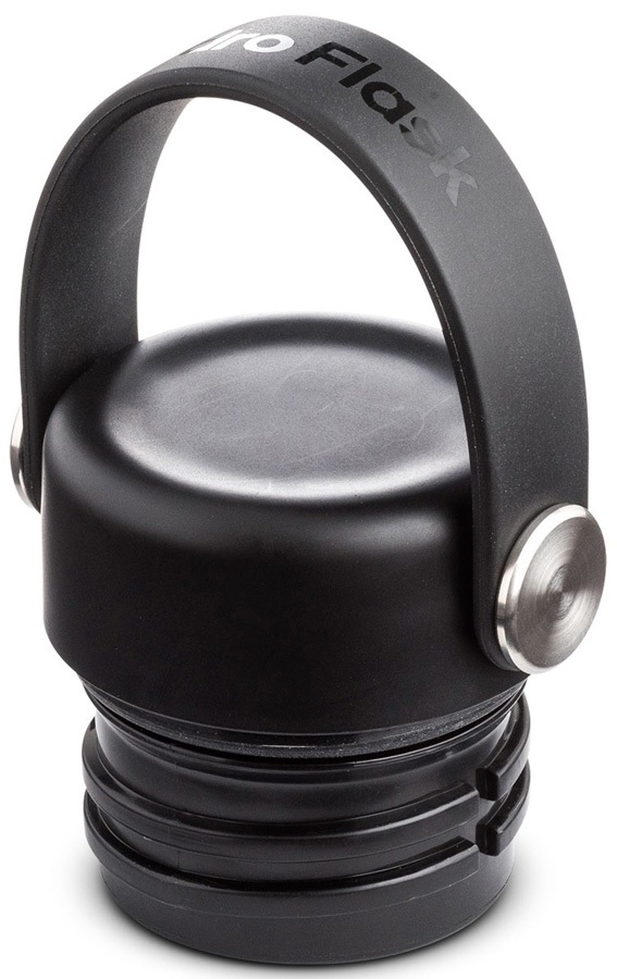 Hydro Flask Standard Mouth Flex Cap Spare Water Bottle Cap, Black