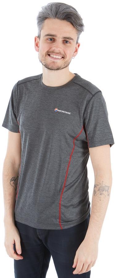 Montane Dart Technical Short Sleeve T-Shirt, M Shadow