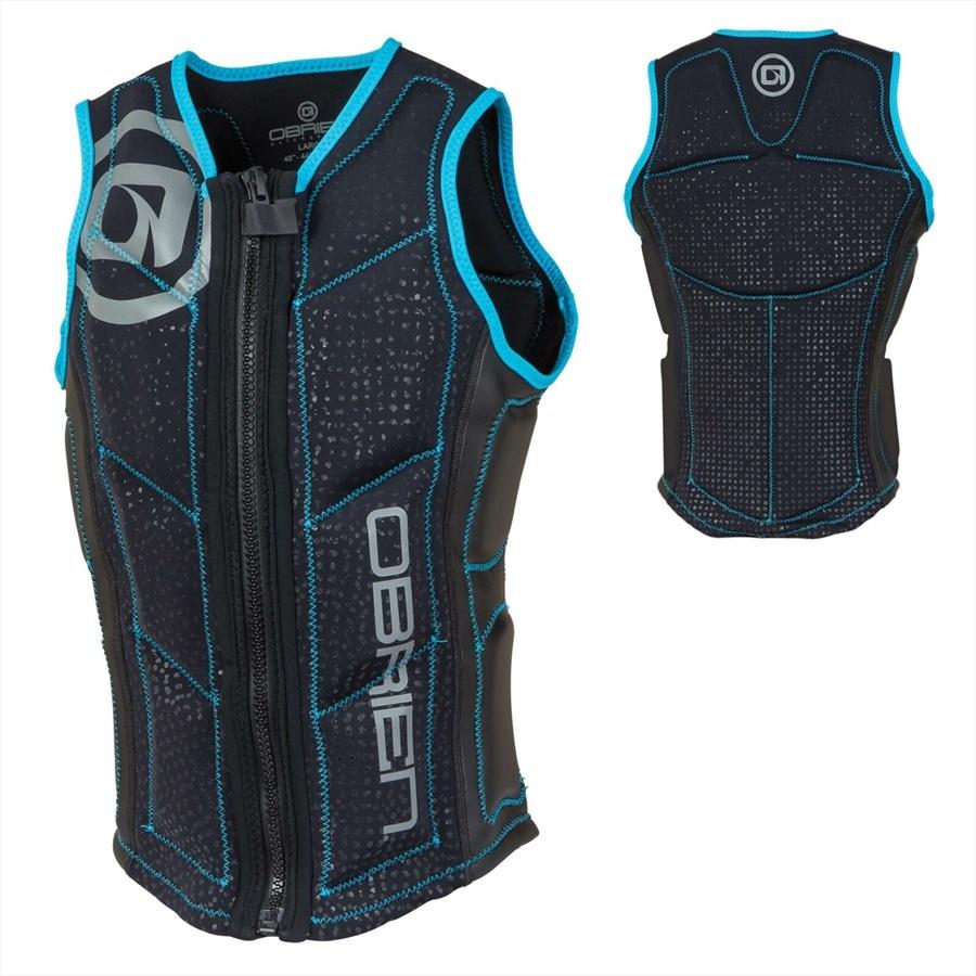 O'Brien Pro Series Wake Wakeboard Impact Vest, XL Blue