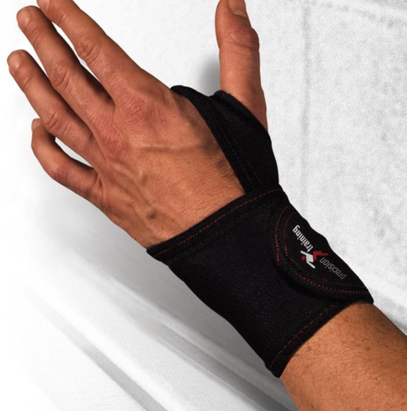 Precision Neoprene Wrist Wrap One Size Black